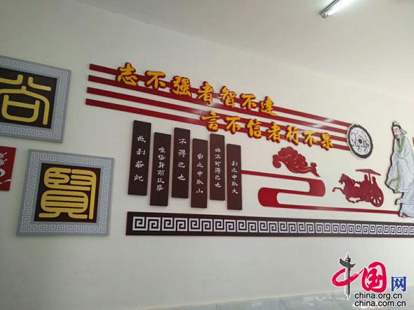 仁寿县富加小学校园文化建设初见成效