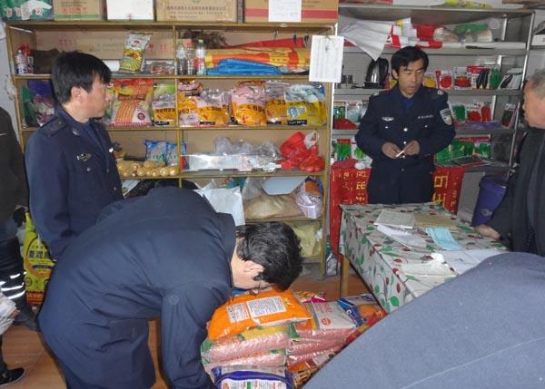 平泉市农业农村局开展农资市场巡查工作