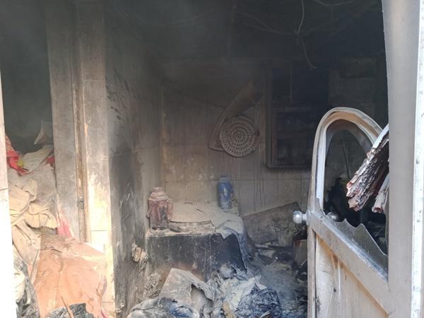 独居老人家中起火 网格员多方联动化解危险